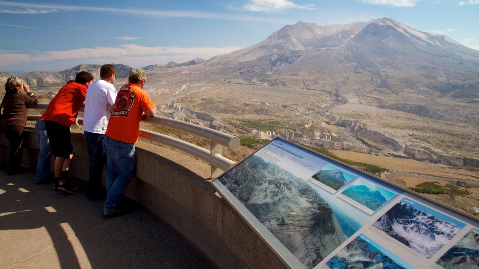 Portland mostrando montanhas, paisagens e paisagem