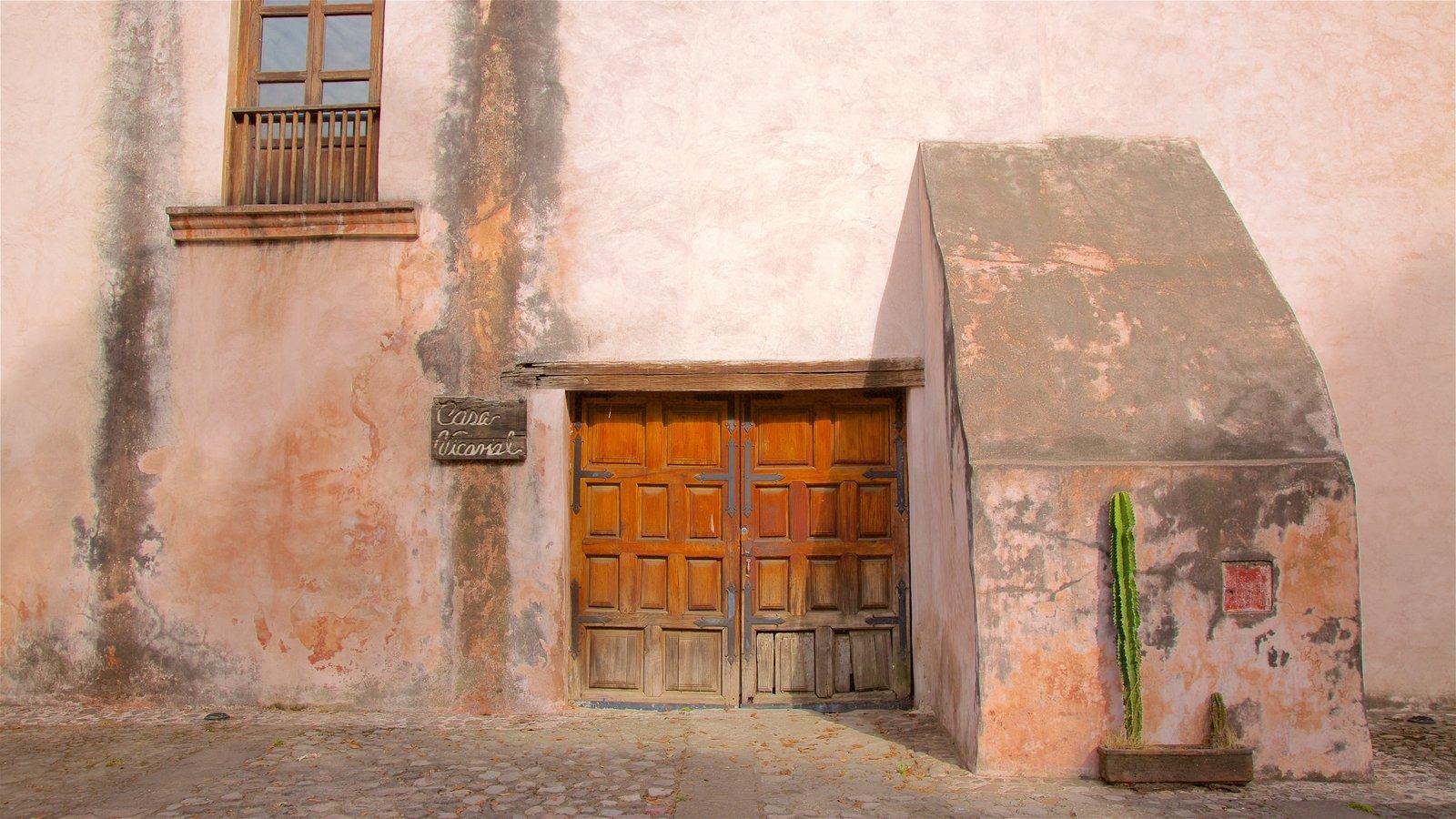 Metepec ofreciendo elementos del patrimonio