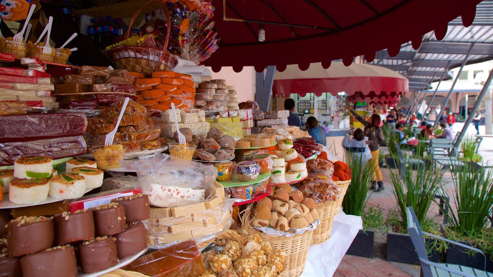 Toluca mostrando mercados
