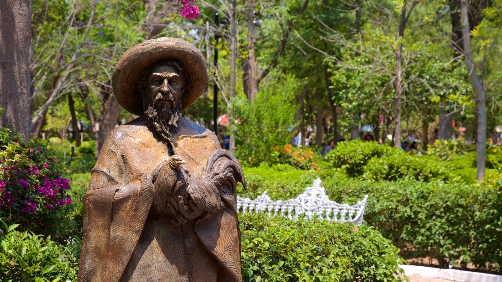 Historical Pictures: View Images of Jardin de San Marcos