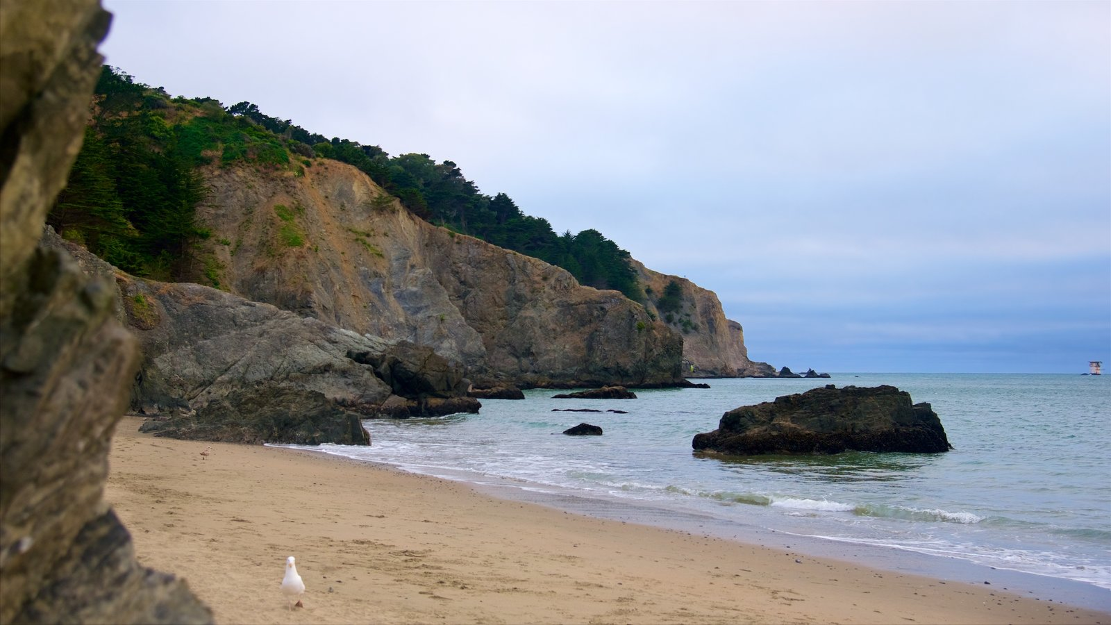 China Beach Showing A And Rugged Coastline