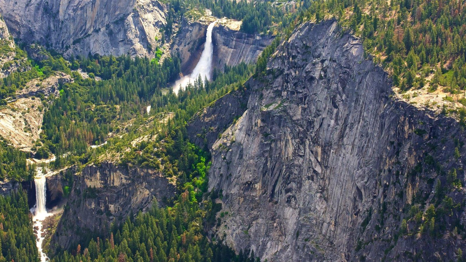 Glacier Point caracterizando cenas tranquilas