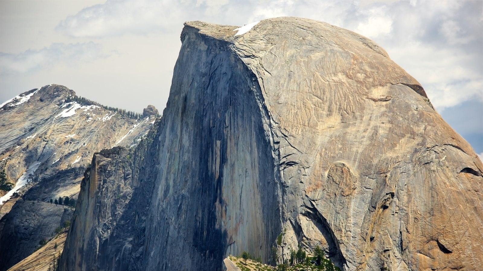 Glacier Point que inclui montanhas