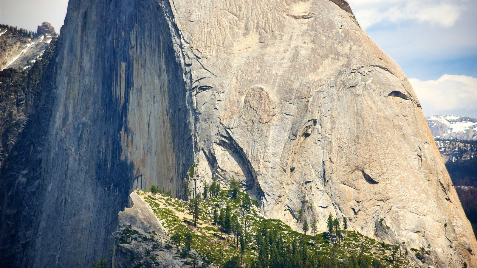 Glacier Point caracterizando montanhas e cenas tranquilas