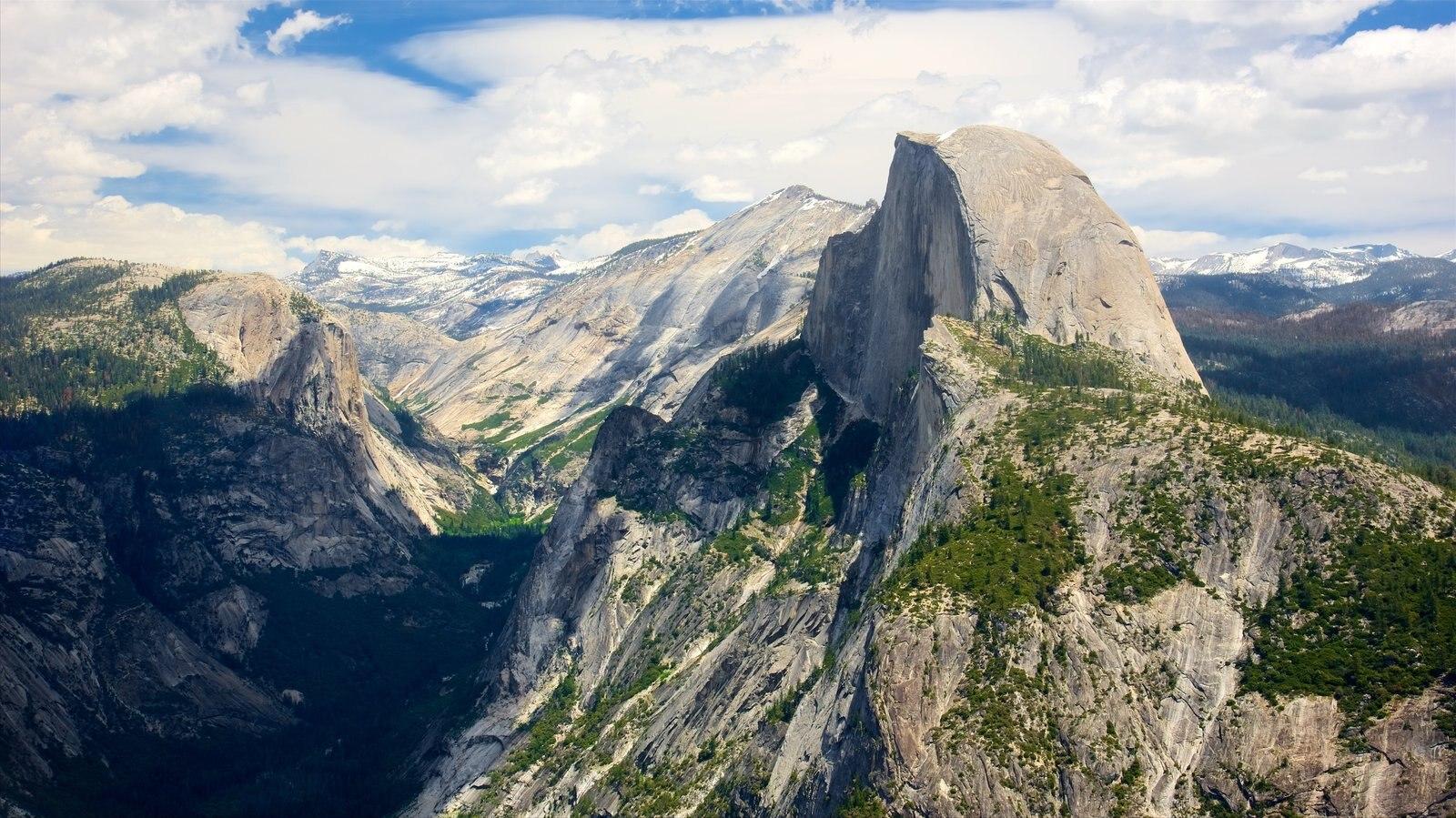 Glacier Point caracterizando paisagem e montanhas