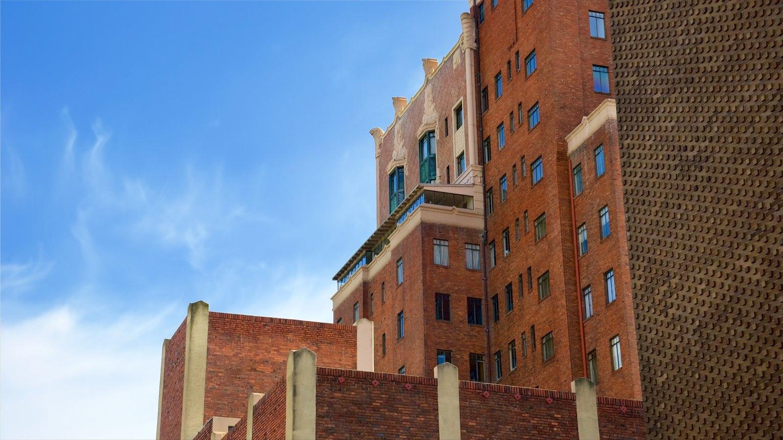 Oakland mostrando arquitetura moderna