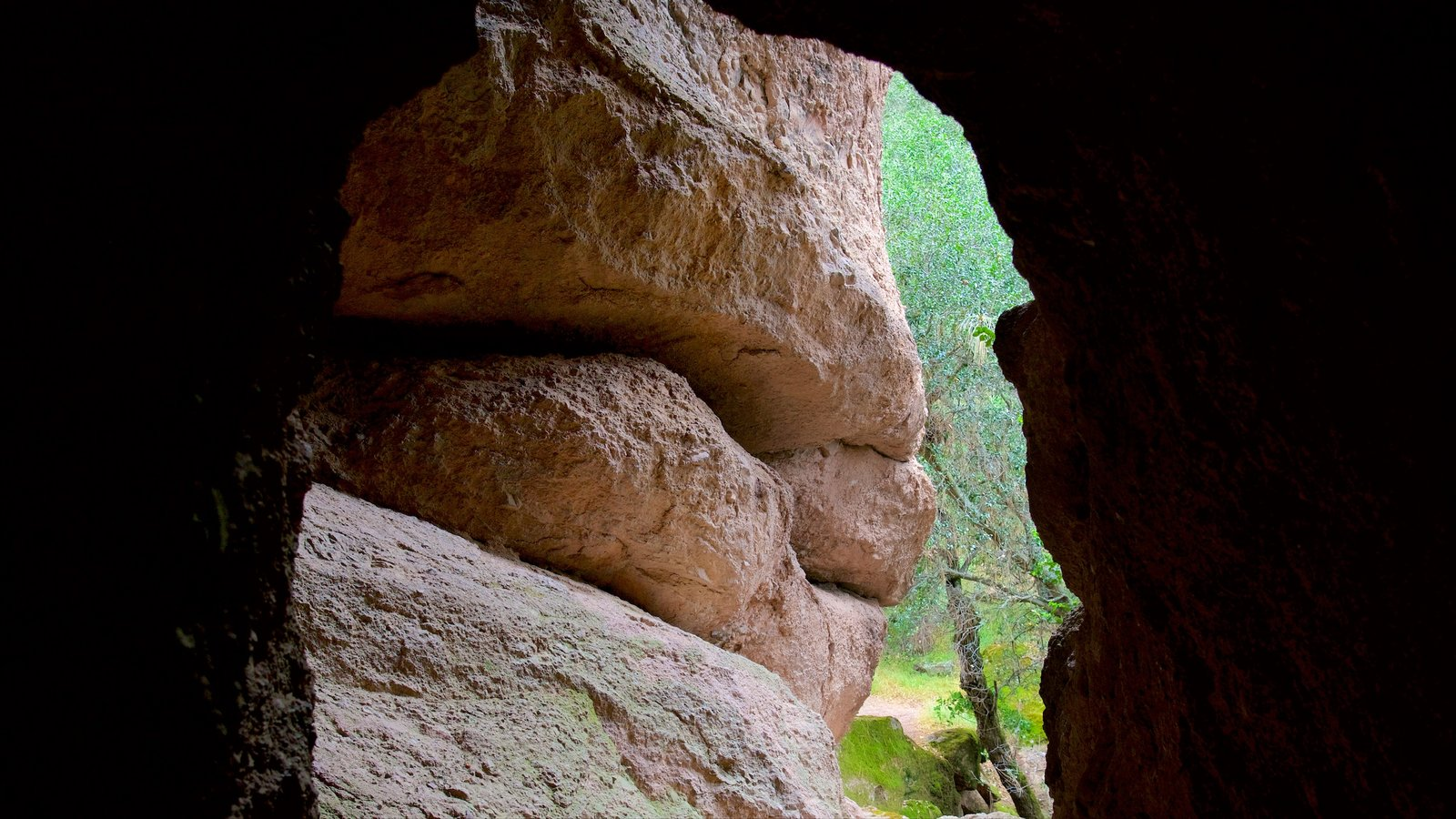 Pinnacles National Park which includes caves