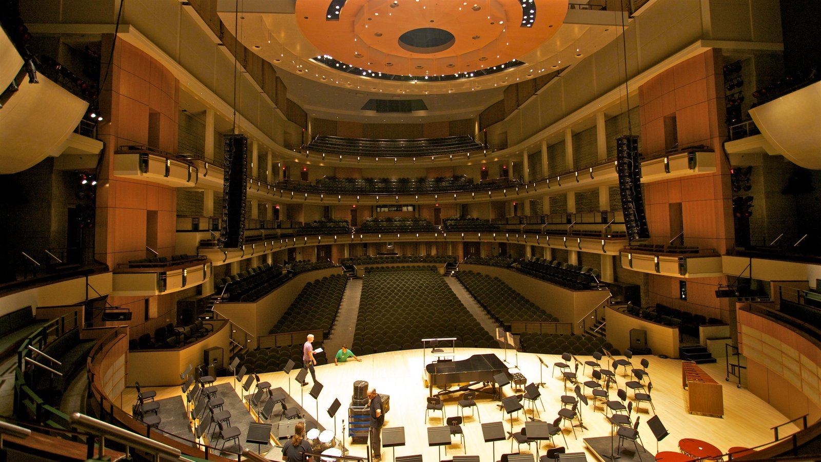 Francis Winspear Centre for Music featuring interior views and theatre scenes