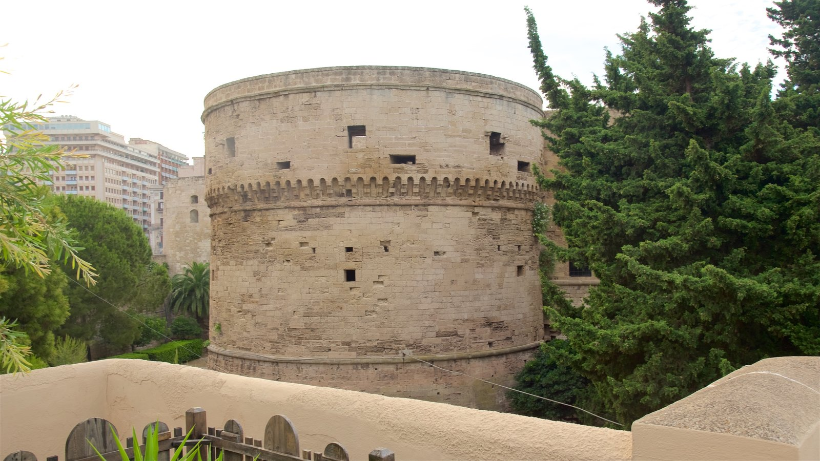 Aragonese Castle featuring a castle and heritage elements
