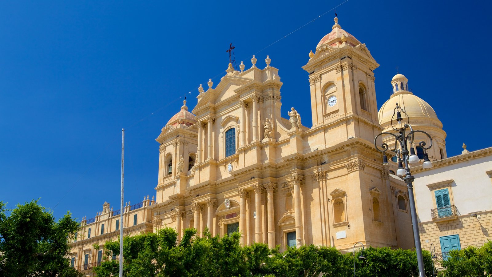 Cathedral of Noto which includes heritage architecture and a church or cathedral
