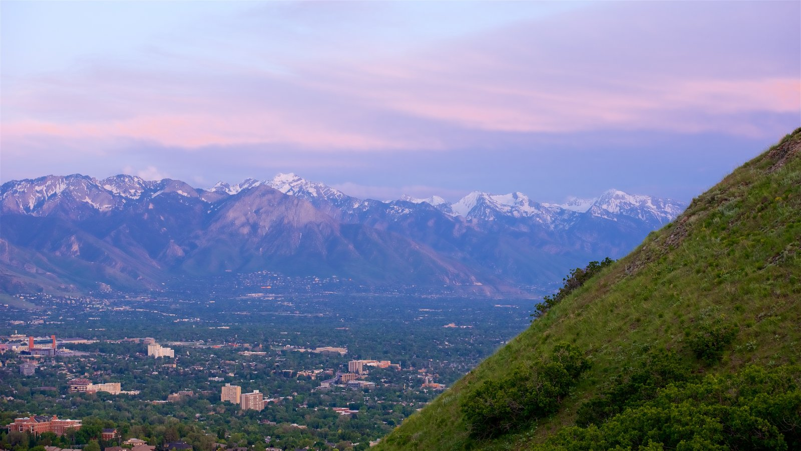 Salt Lake City Mountains