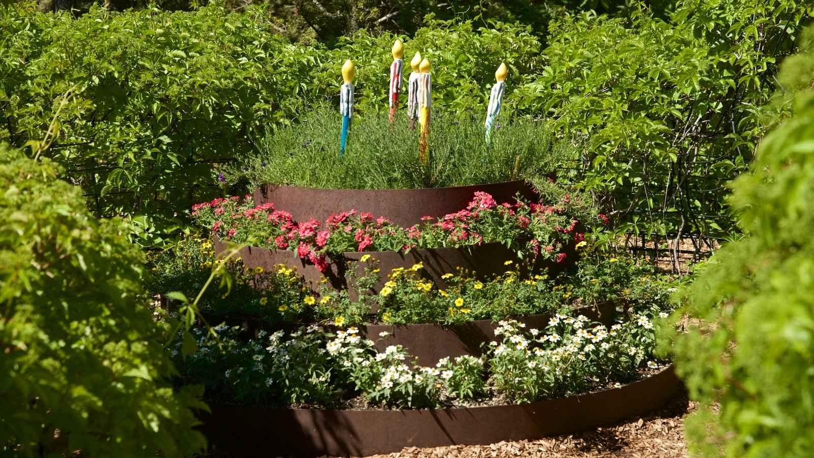 Red Butte Garden and Arboreteum featuring flowers