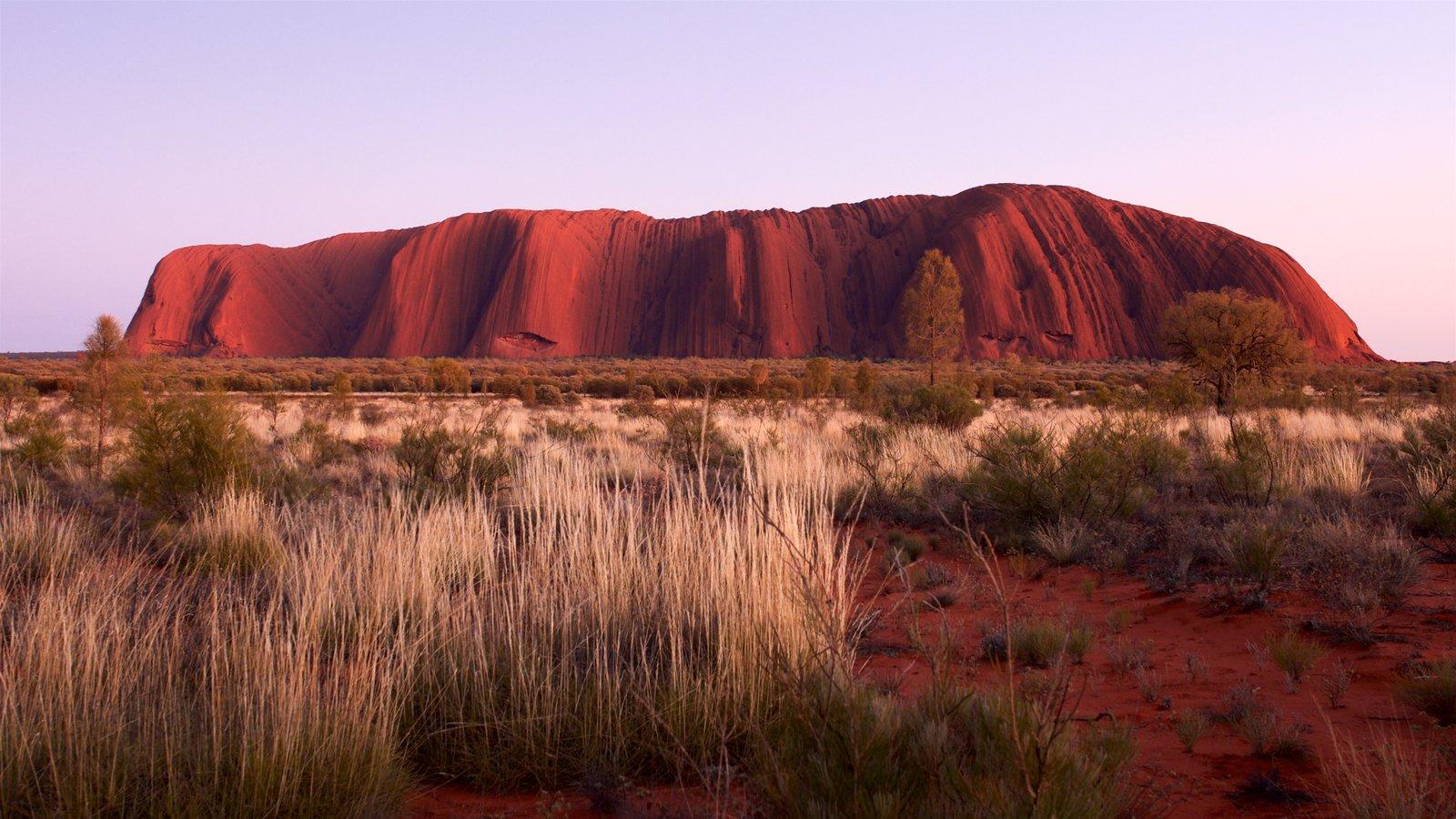 Australia ofreciendo escenas tranquilas y vistas al desierto