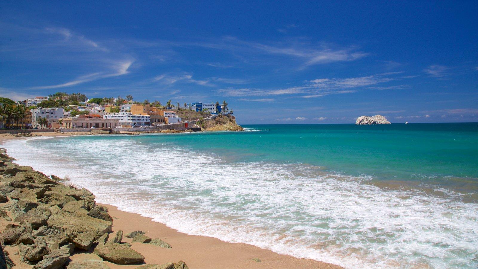 Mazatlan Which Includes A Beach And General Coastal Views