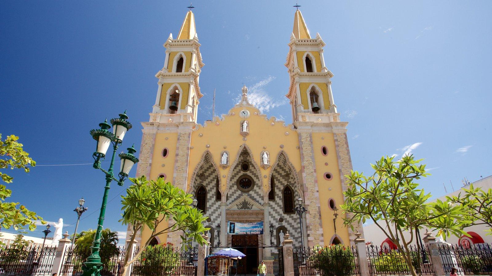 Catedral de Mazatlán, construida a finales del siglo XIX.