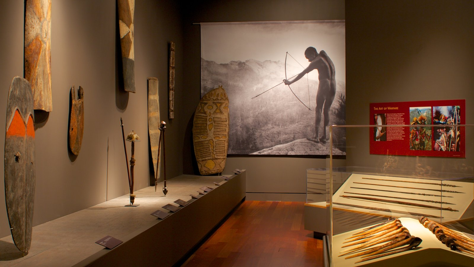 Museo Bowers ofreciendo vistas interiores