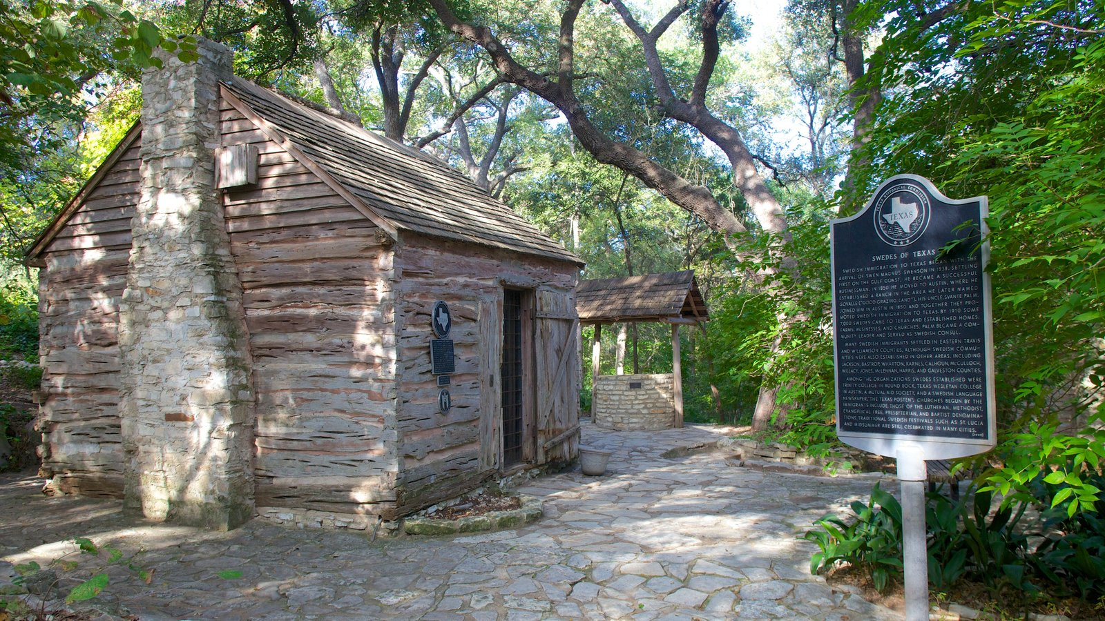 Austin showing heritage architecture, landscape views and a house