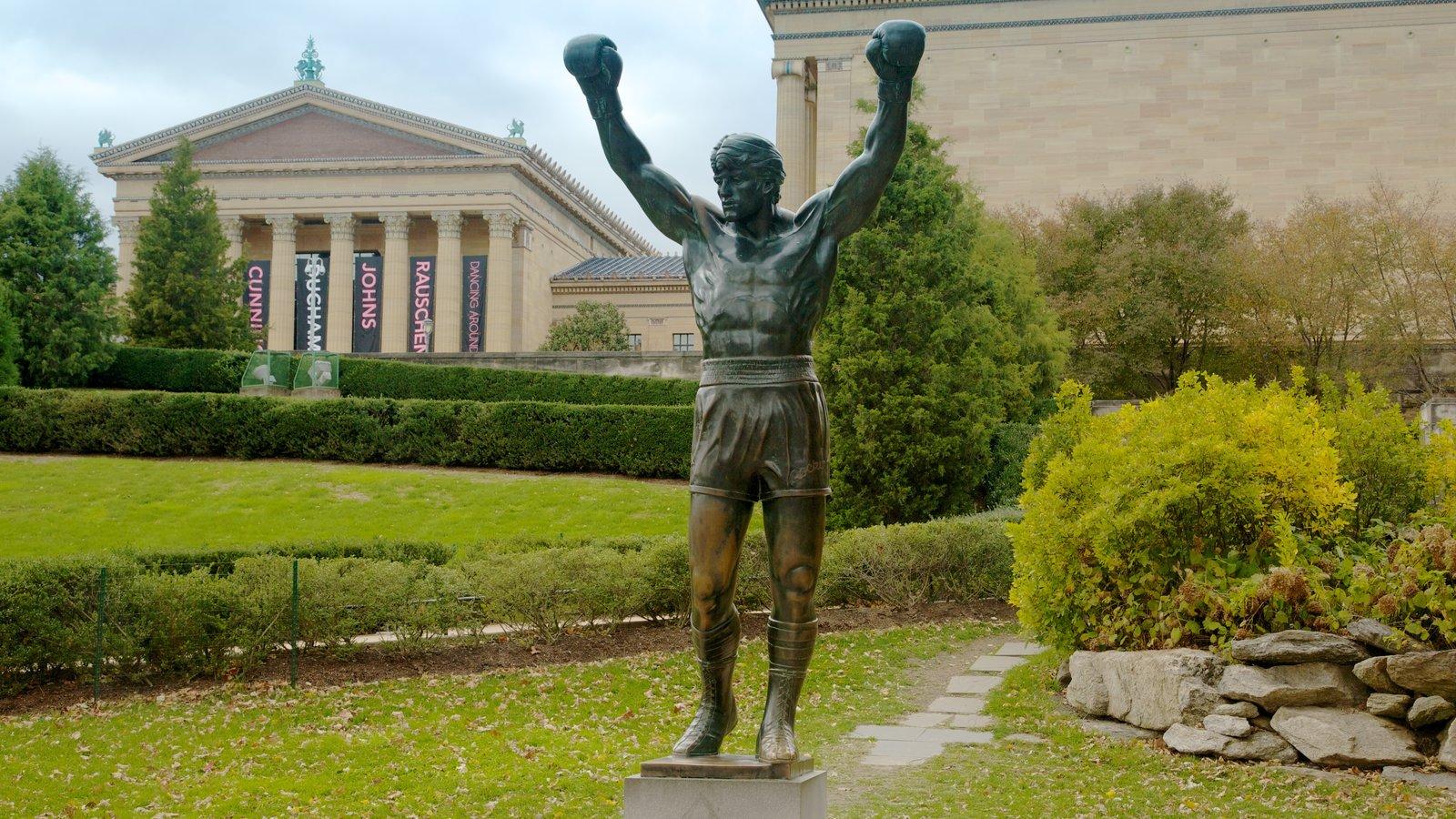 Museu de Arte caracterizando uma estátua ou escultura