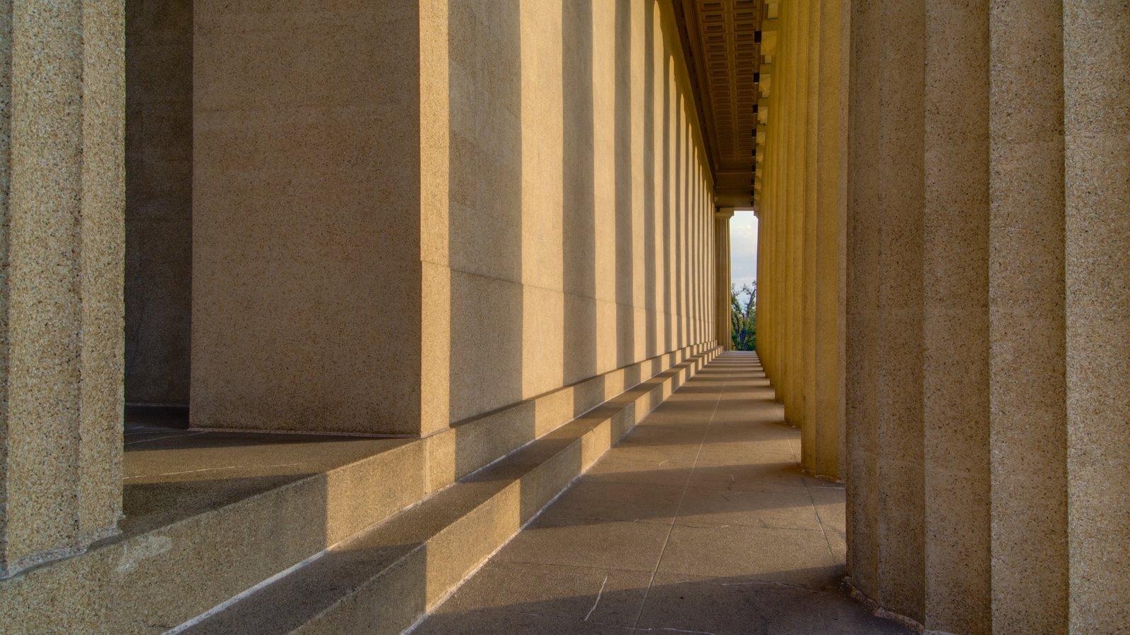Parthenon mostrando patrimonio de arquitectura