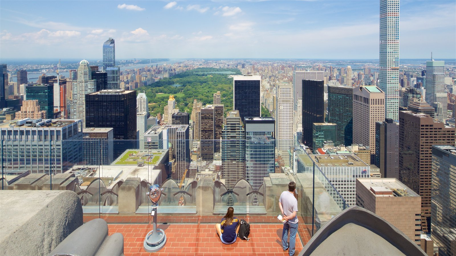 Image result for Top of the Rock Observation Deck, New York