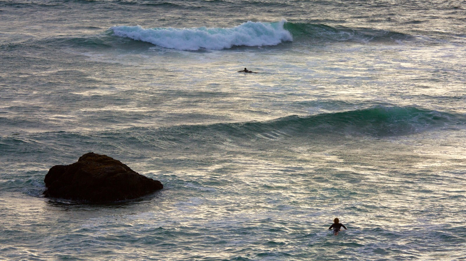 Sonoma Valley featuring general coastal views, surfing and waves