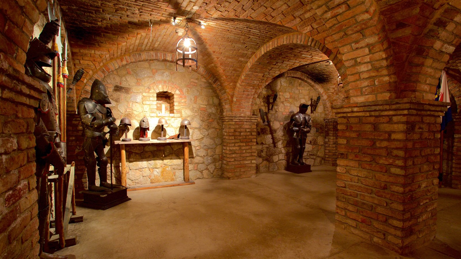 Castello di Amorosa showing interior views, a castle and heritage elements
