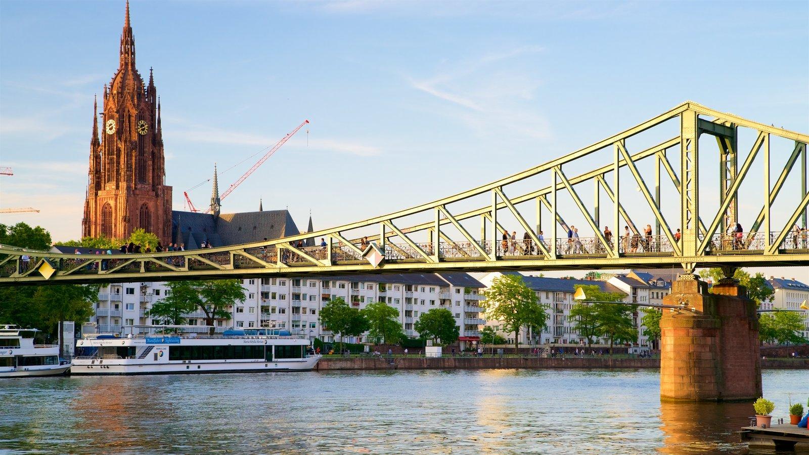 Sunset Sunrise Pictures View Images Of Frankfurt - Frankfurt river