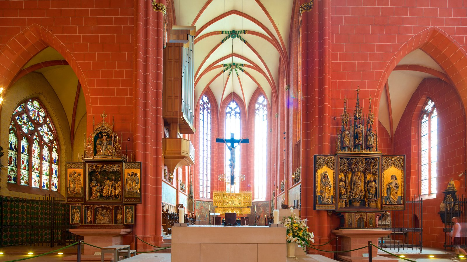 religious pictures view images of frankfurt cathedral. Black Bedroom Furniture Sets. Home Design Ideas