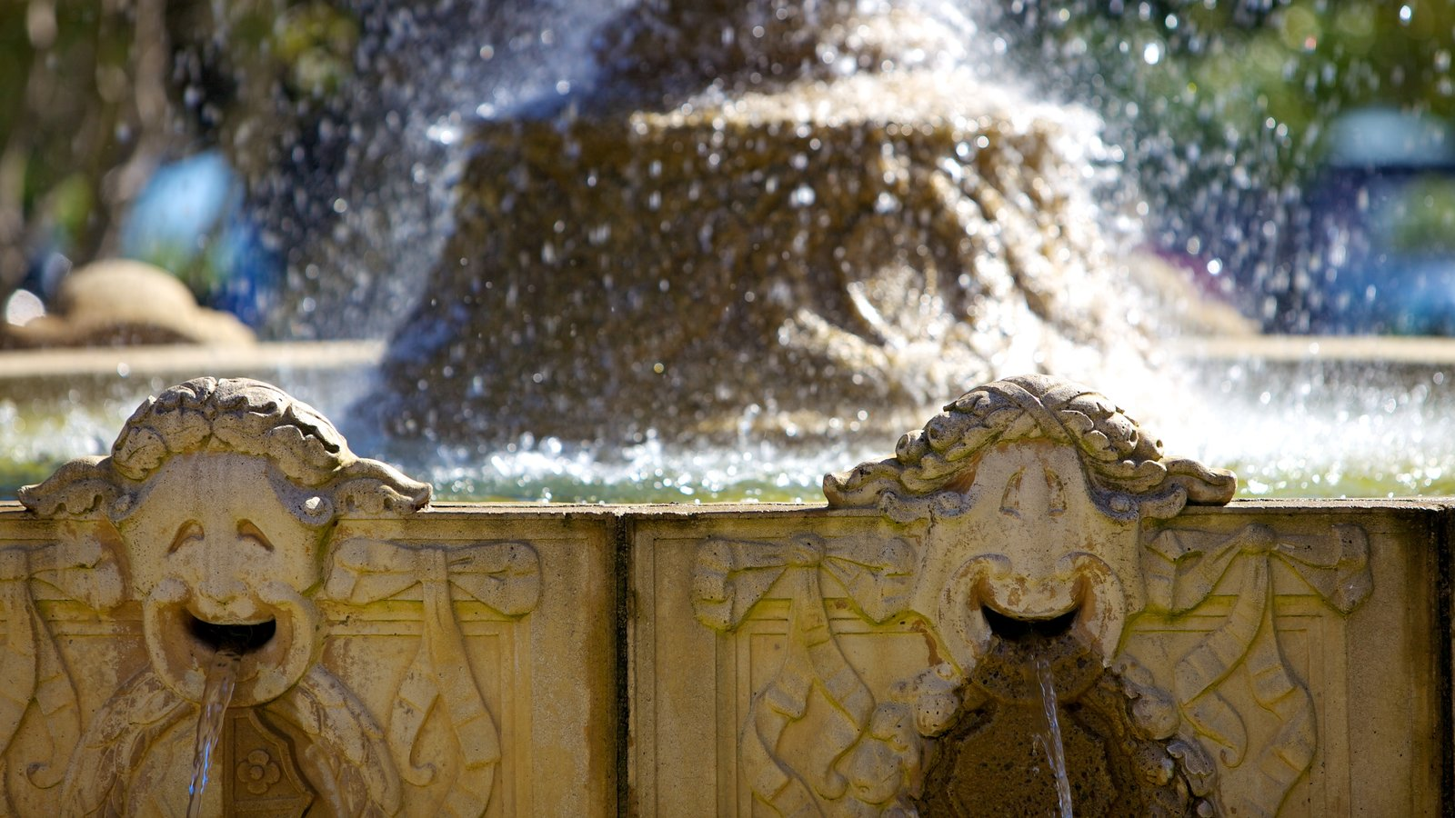 Sausalito featuring a fountain