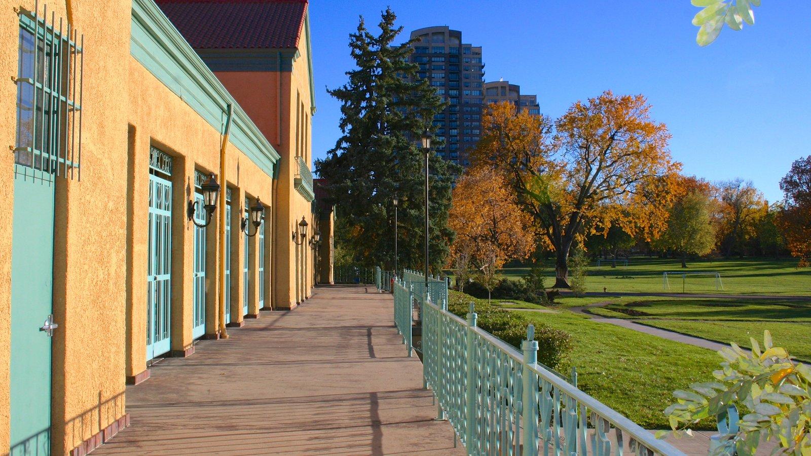 City Park caracterizando uma cidade e um parque