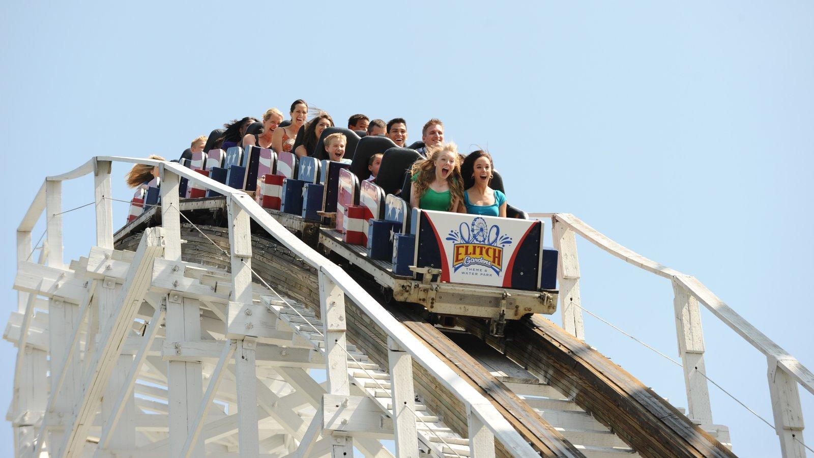 Elitch Gardens Theme Park que inclui passeios