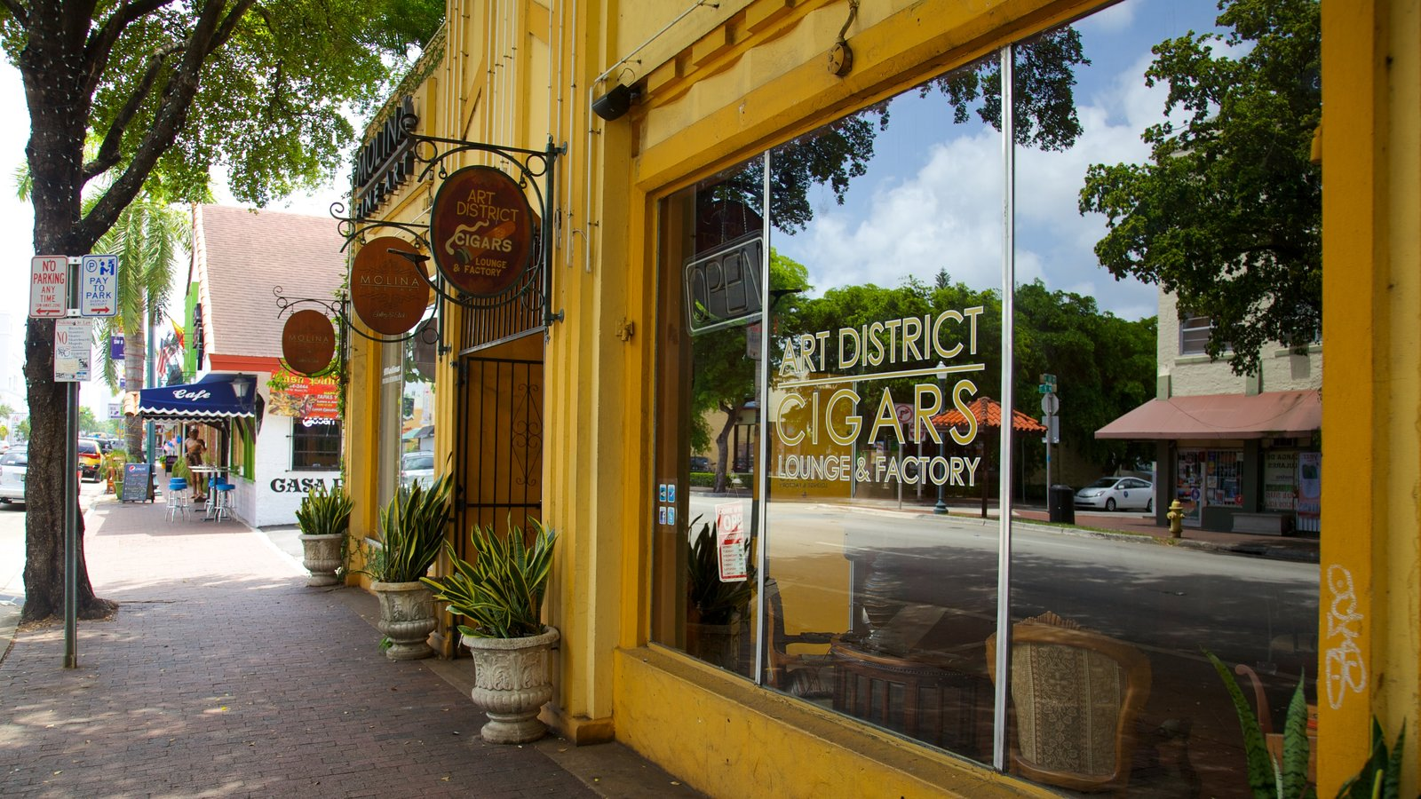 Little Havana which includes street scenes, a city and shopping