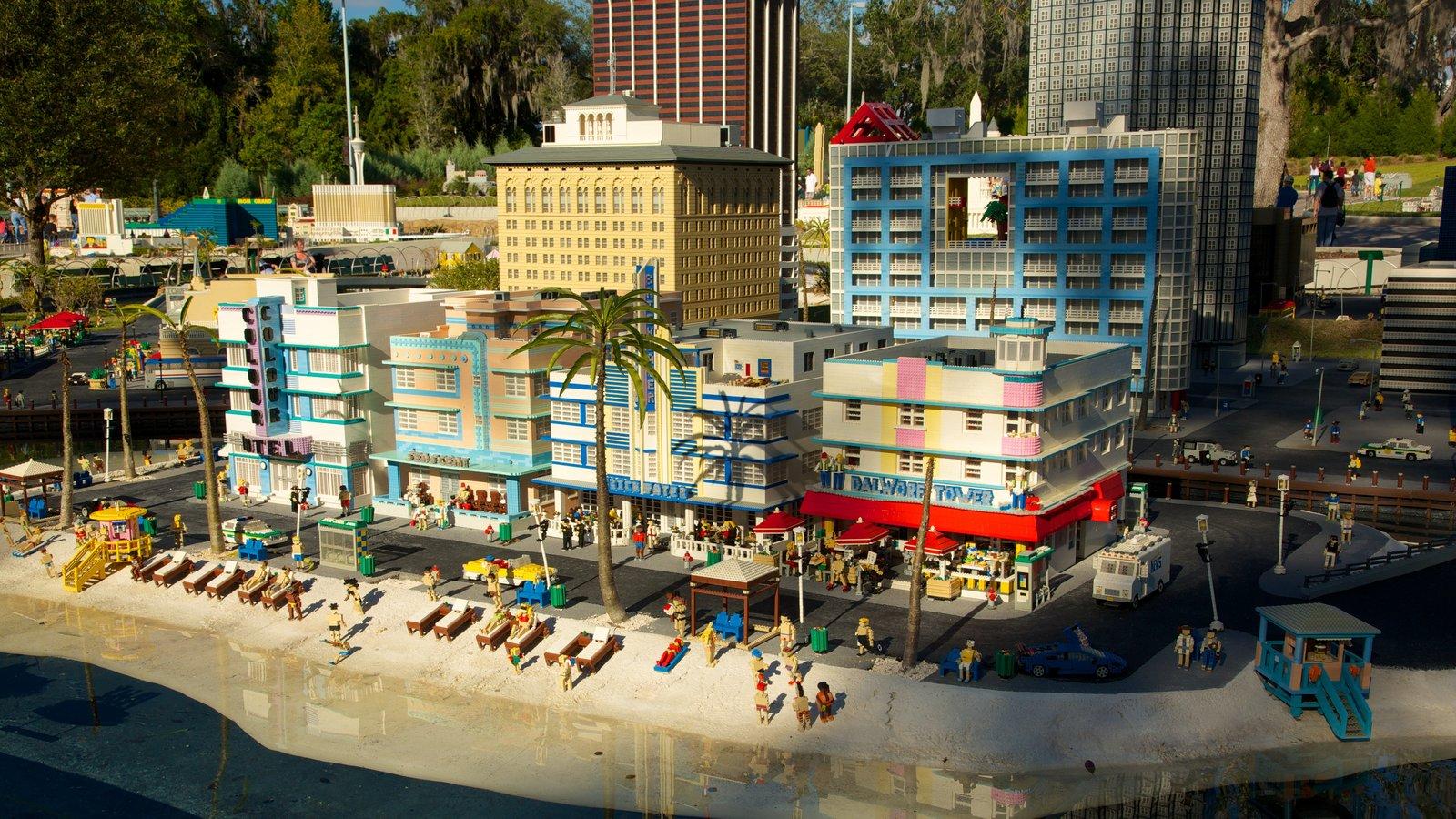 Legoland Florida which includes rides