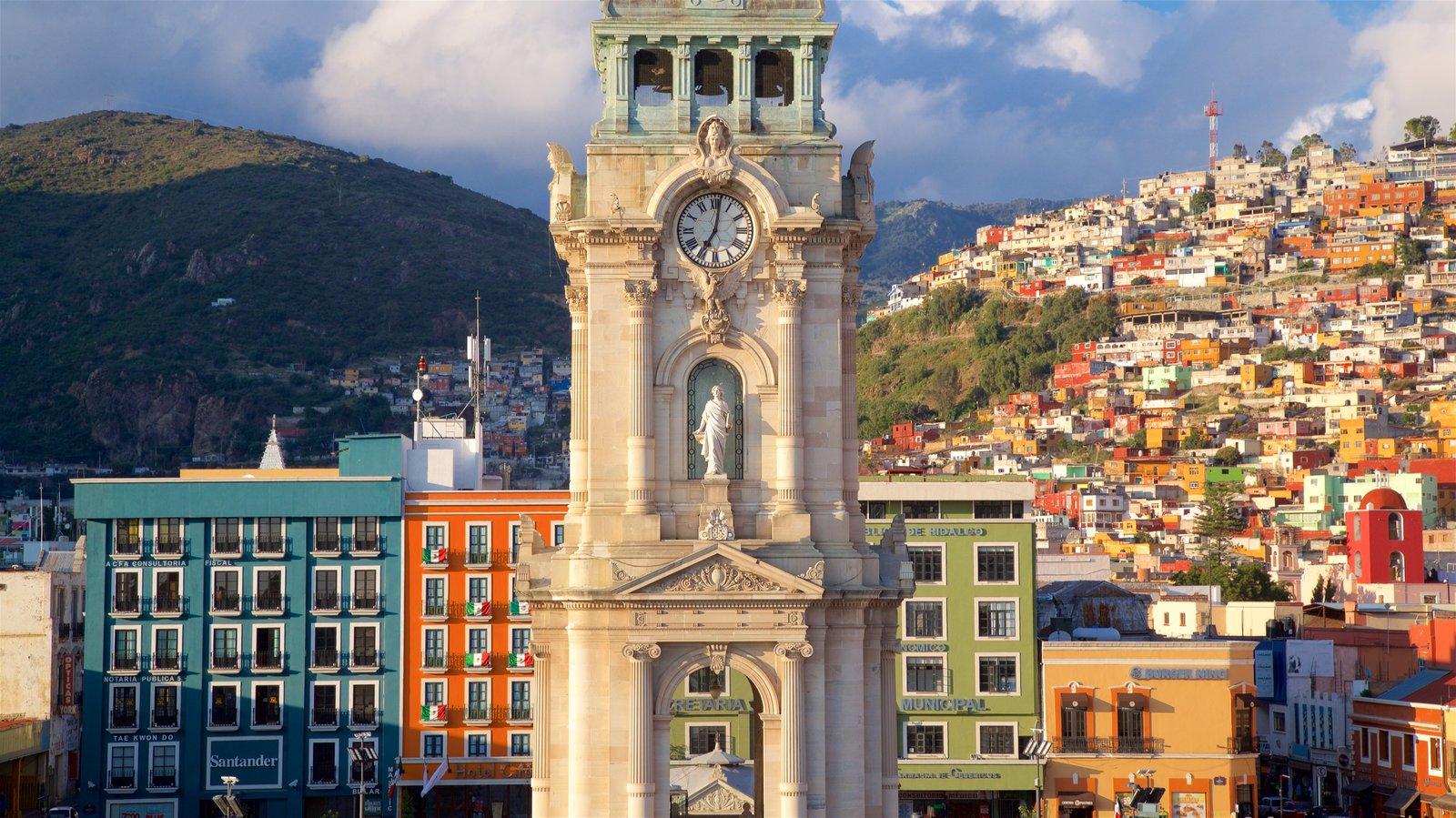 Vista del Reloj Monumental de Pachuca