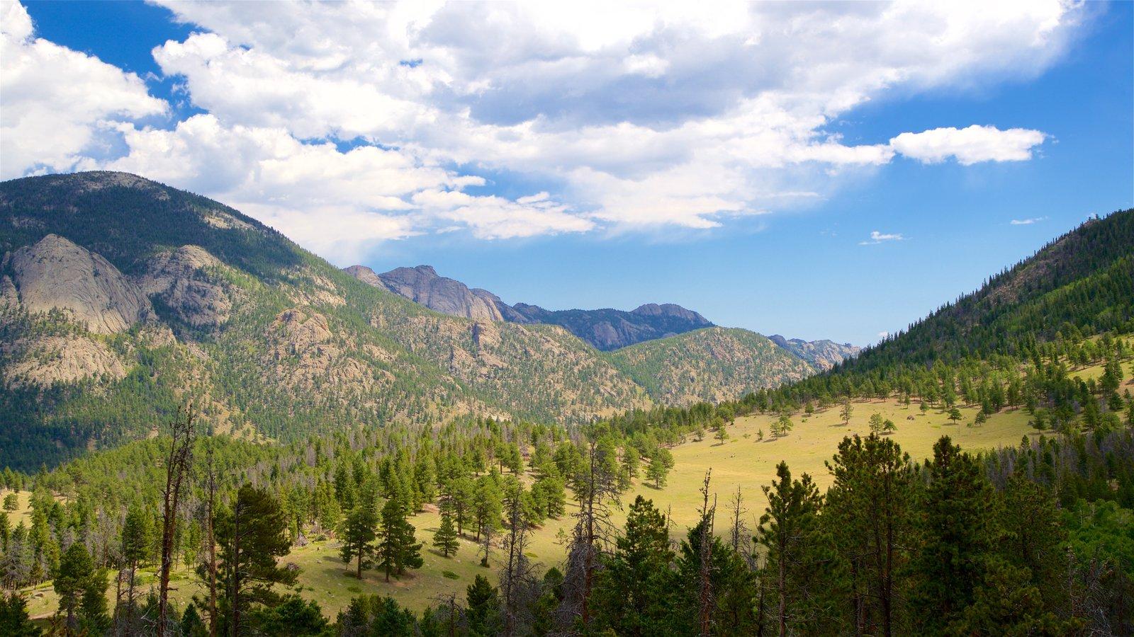 Rocky Mountain National Park mostrando cenas tranquilas e paisagem