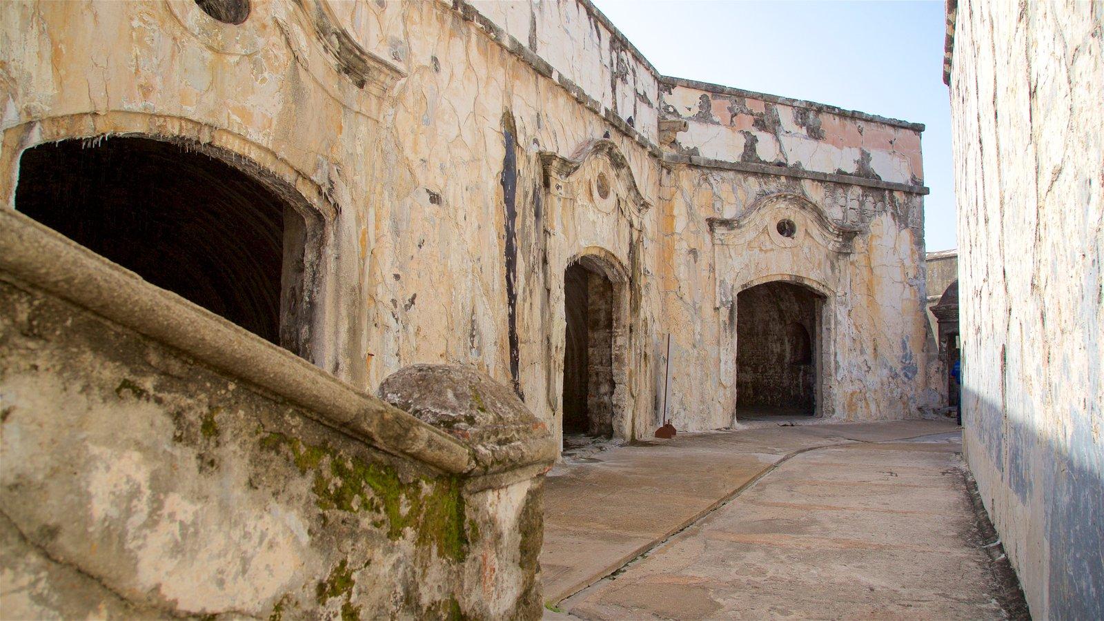 Interior del Fuerte de San Juan de Ulúa