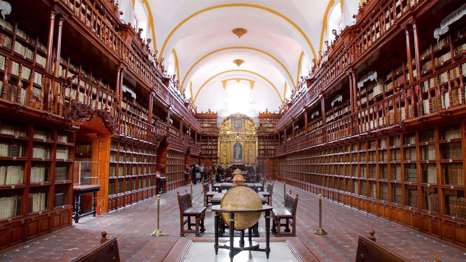 Biblioteca Palafoxiana de la ciudad de Puebla