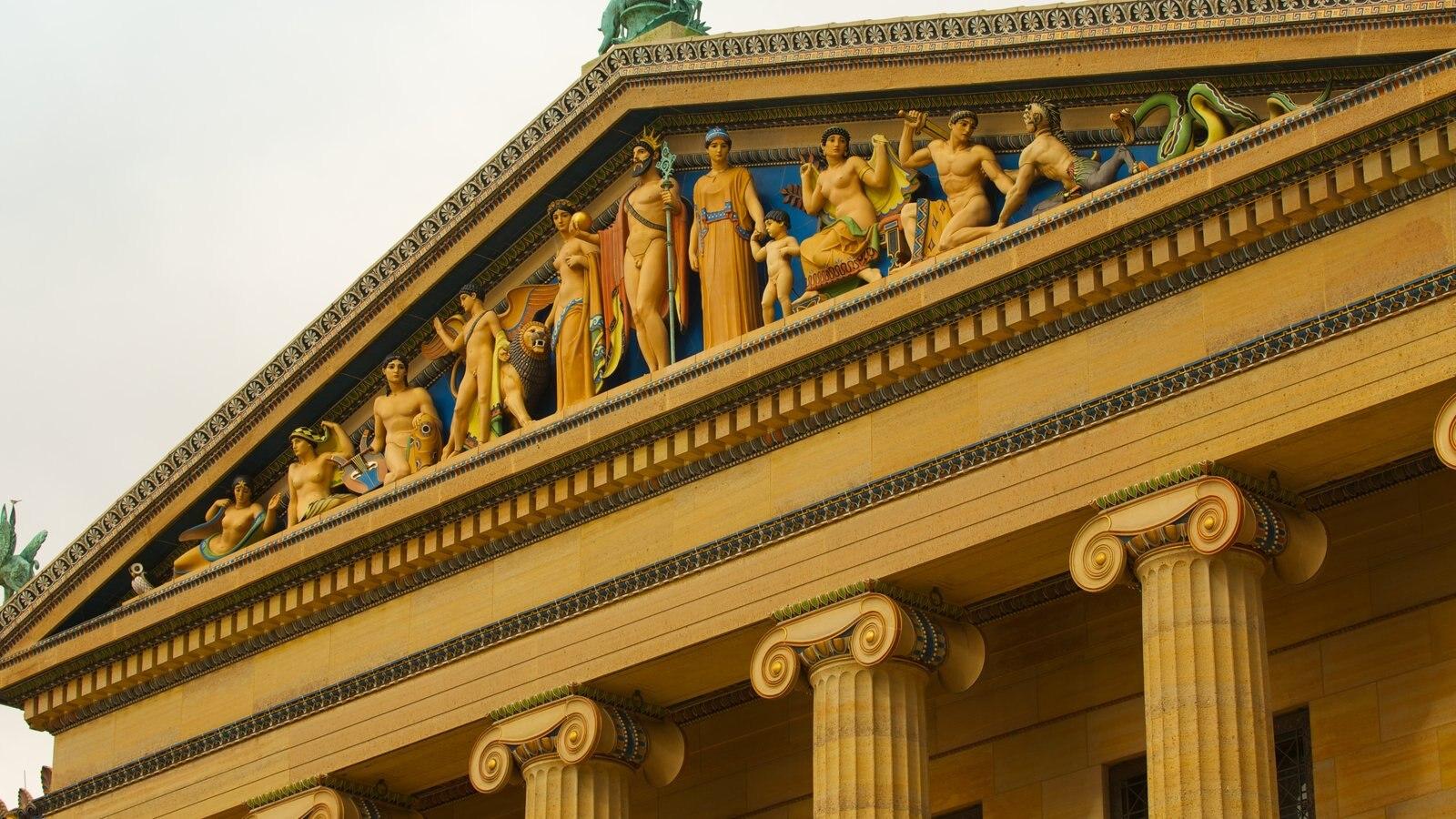 Museu de Arte caracterizando arte