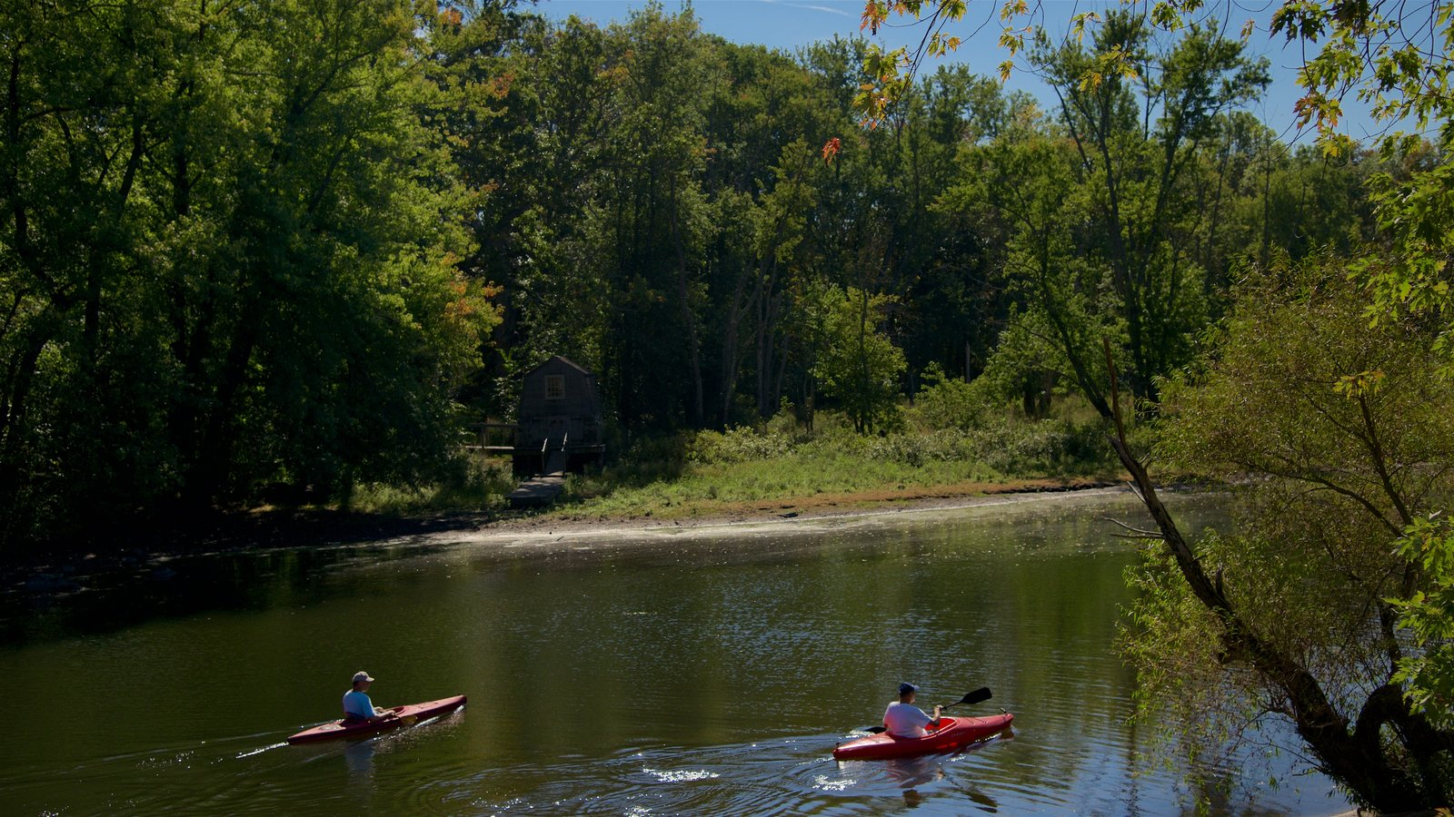 Concord featuring kayaking or canoeing and a river or creek as well as a couple