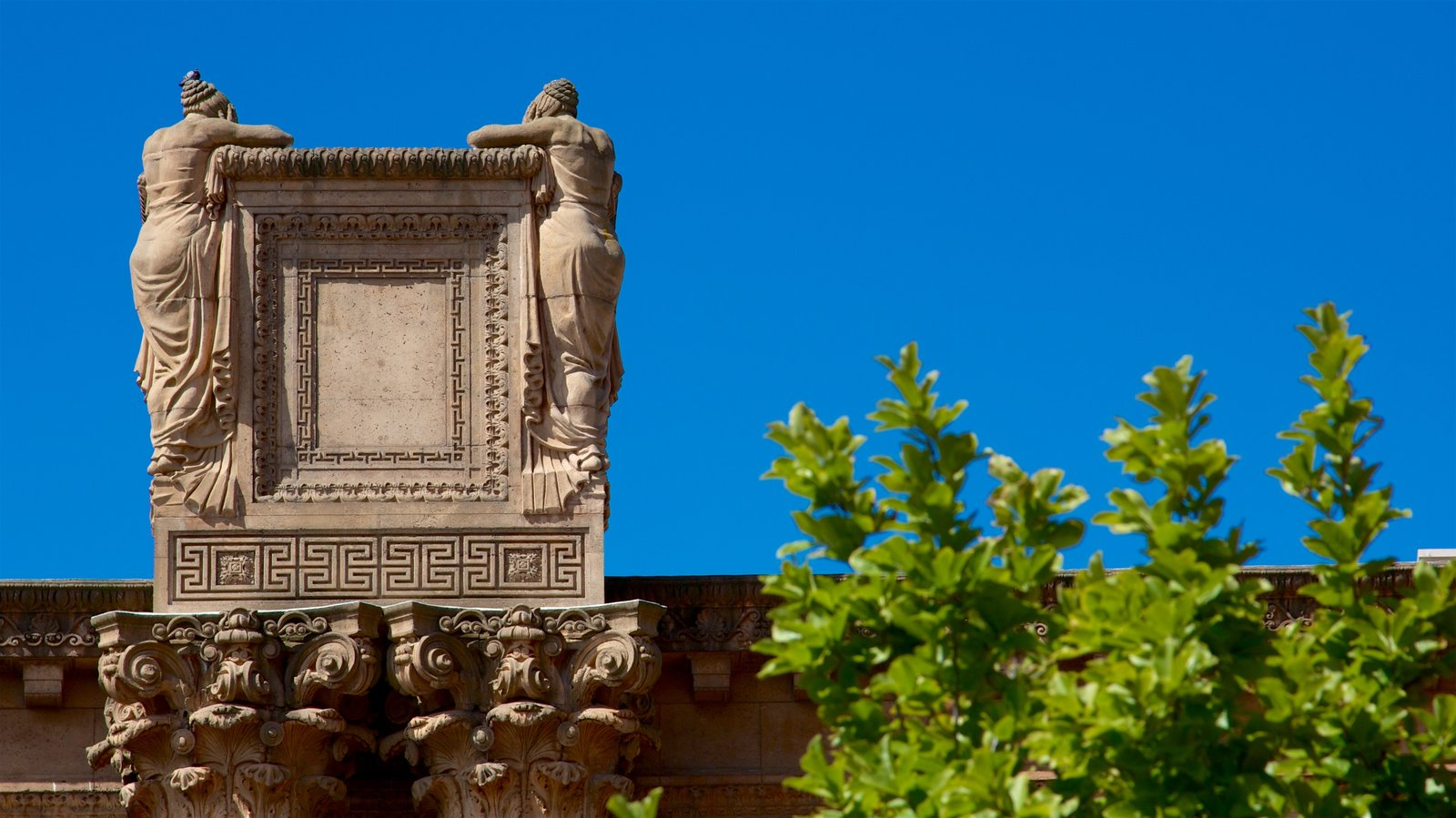 Palace of Fine Arts featuring heritage elements
