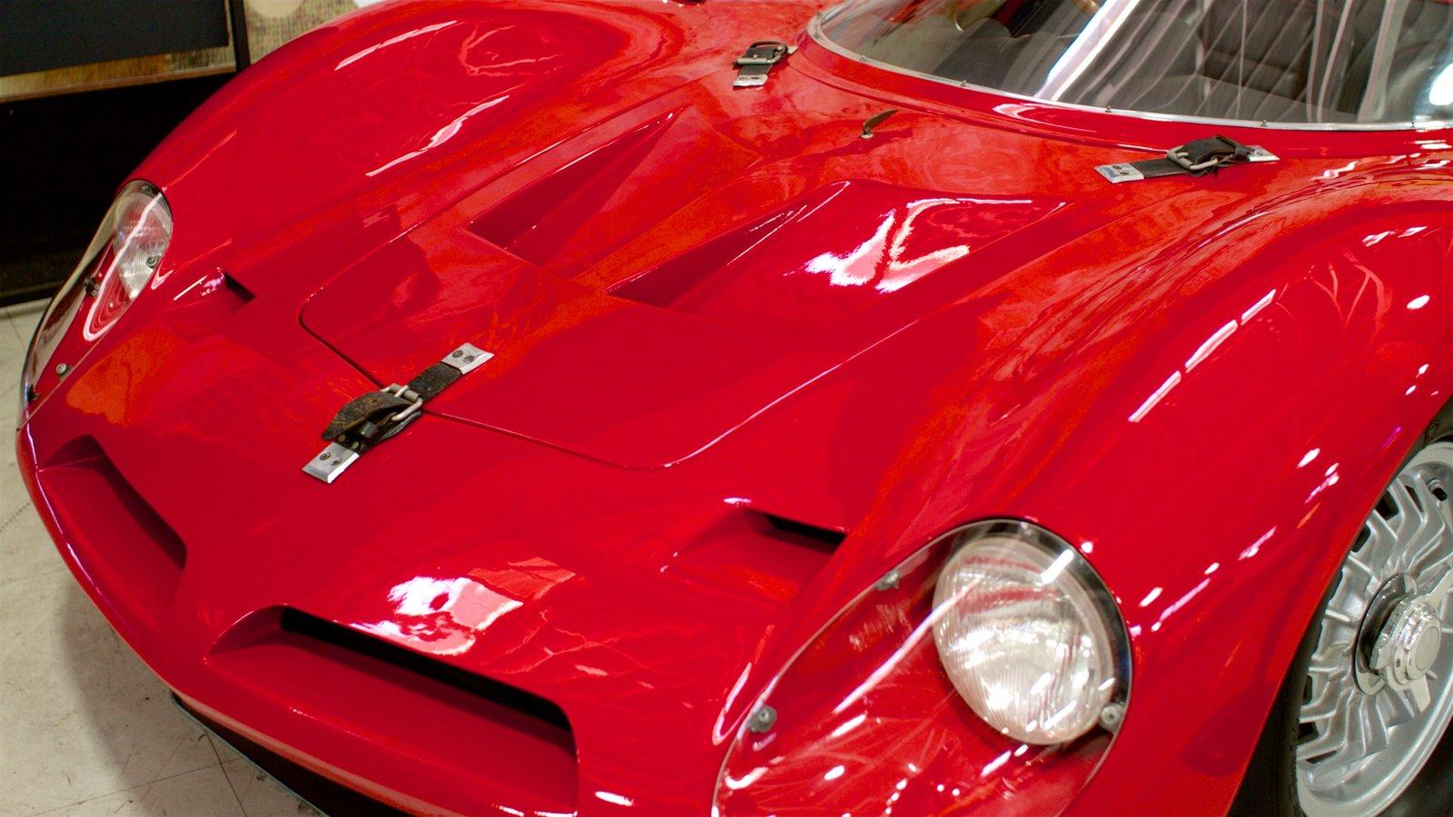 San Diego Automobile Museum que inclui elementos de patrimônio
