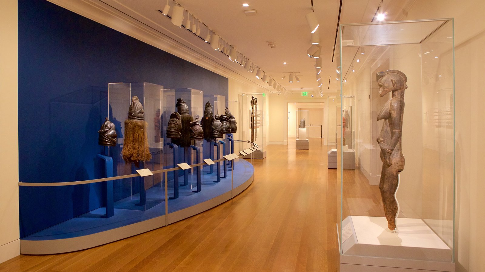 Baltimore Museum of Art featuring interior views and art