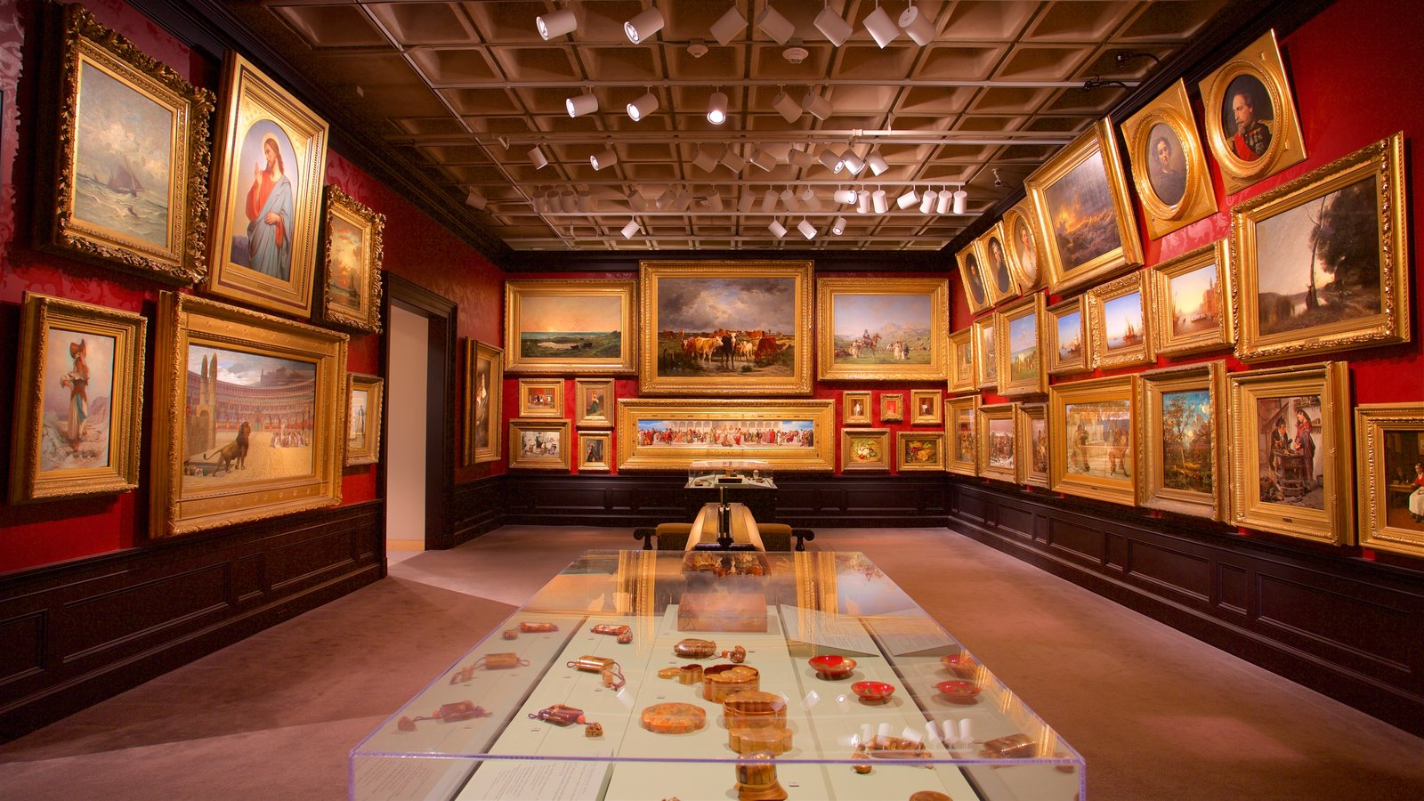 Walters Art  Museum which includes art and interior views