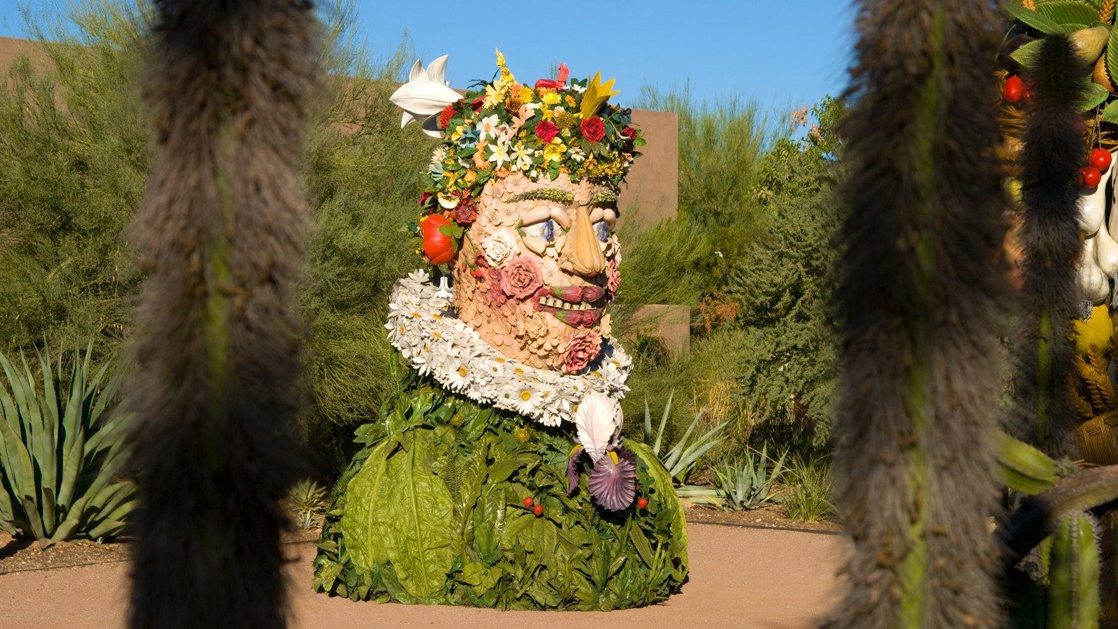 Desert Botanical Garden caracterizando um parque