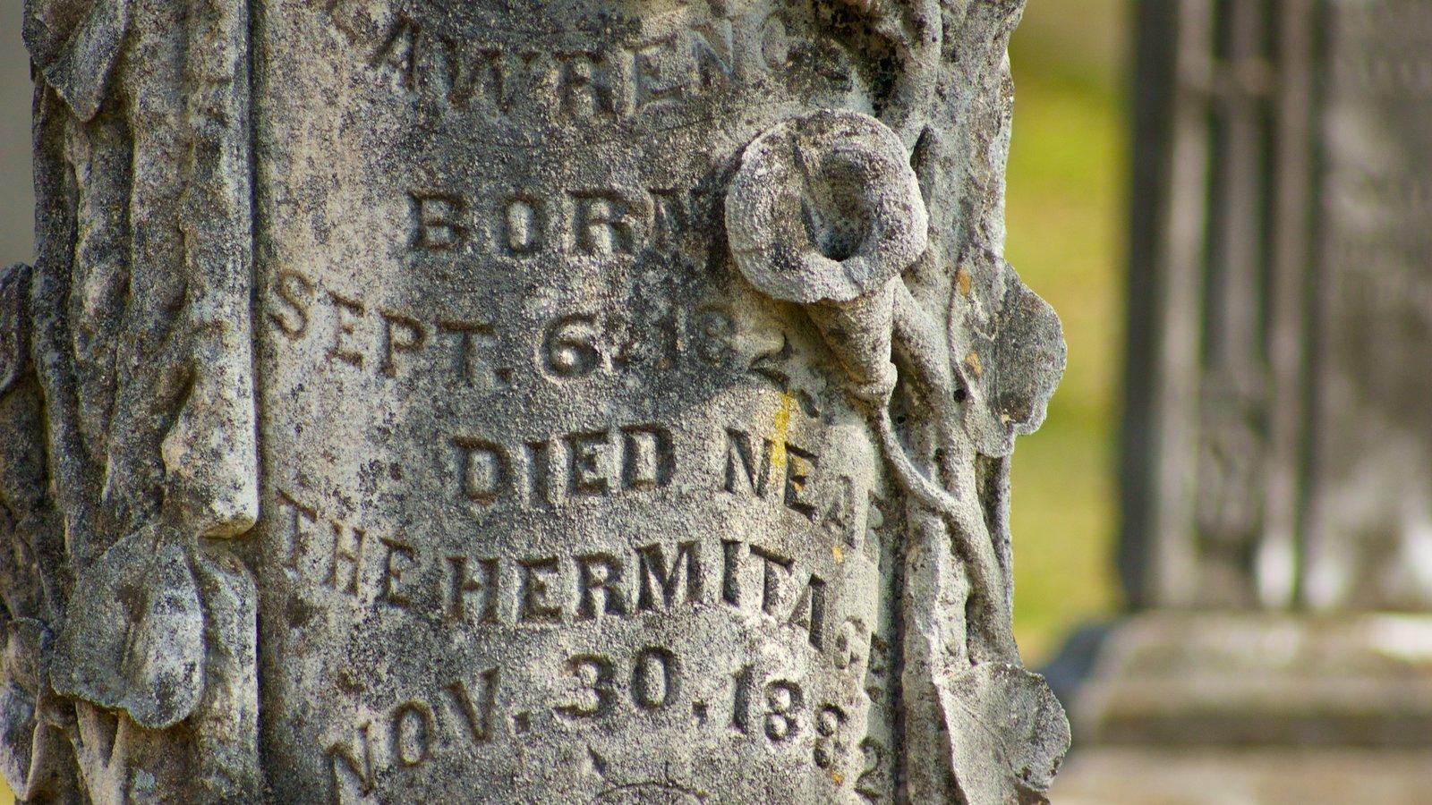 The Hermitage que incluye un monumento y un cementerio