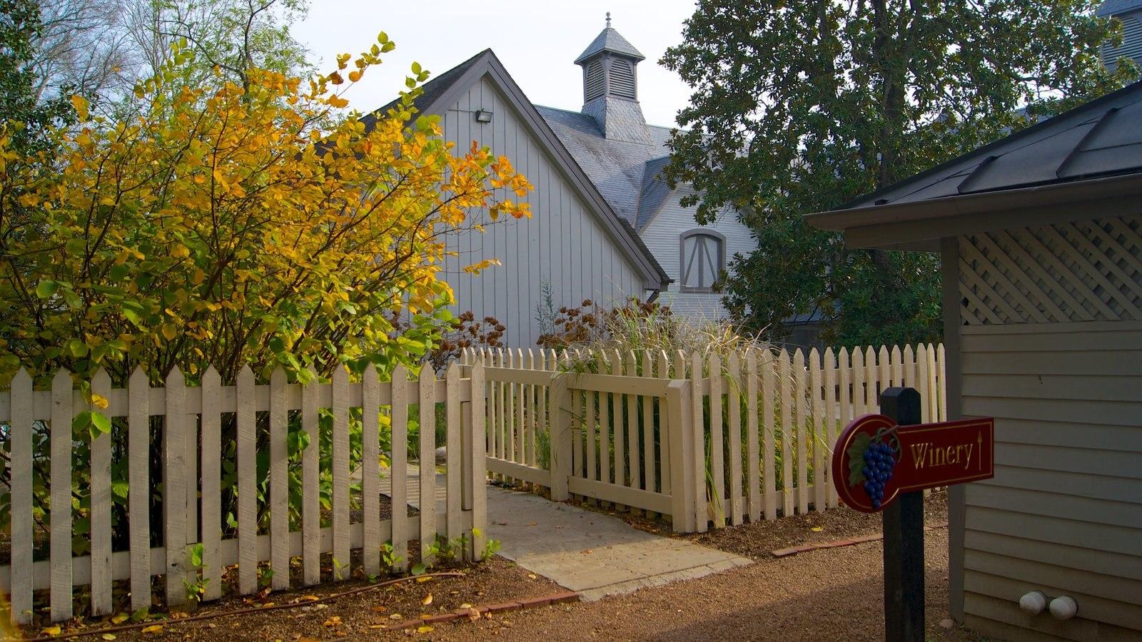 Belle Meade Plantation que incluye una casa