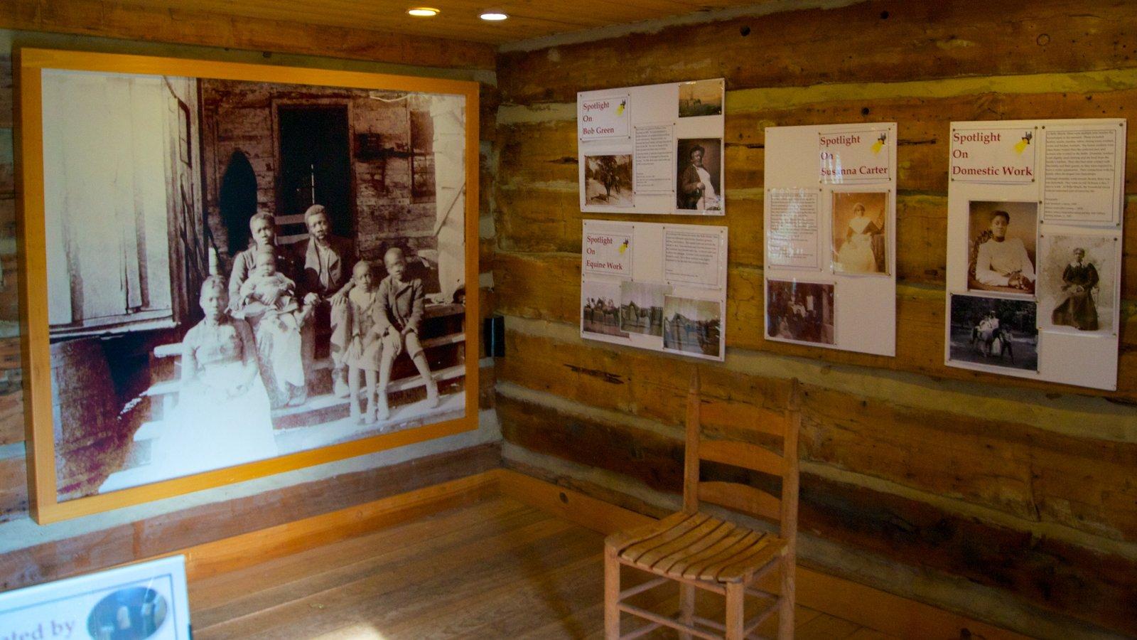 Belle Meade Plantation ofreciendo vistas interiores