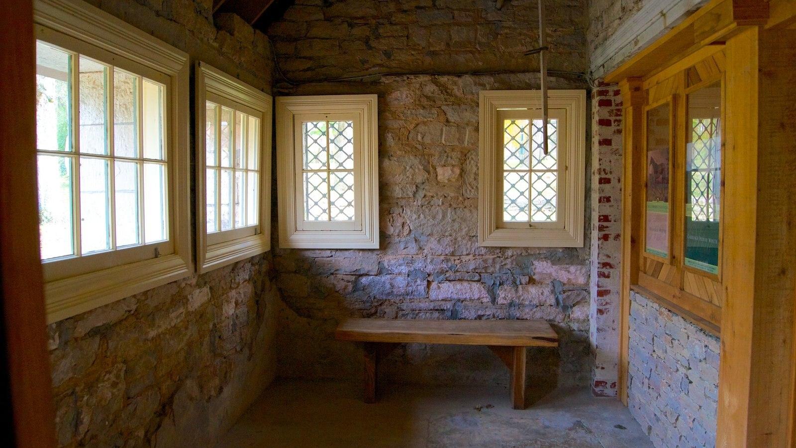 Belle Meade Plantation mostrando vistas interiores
