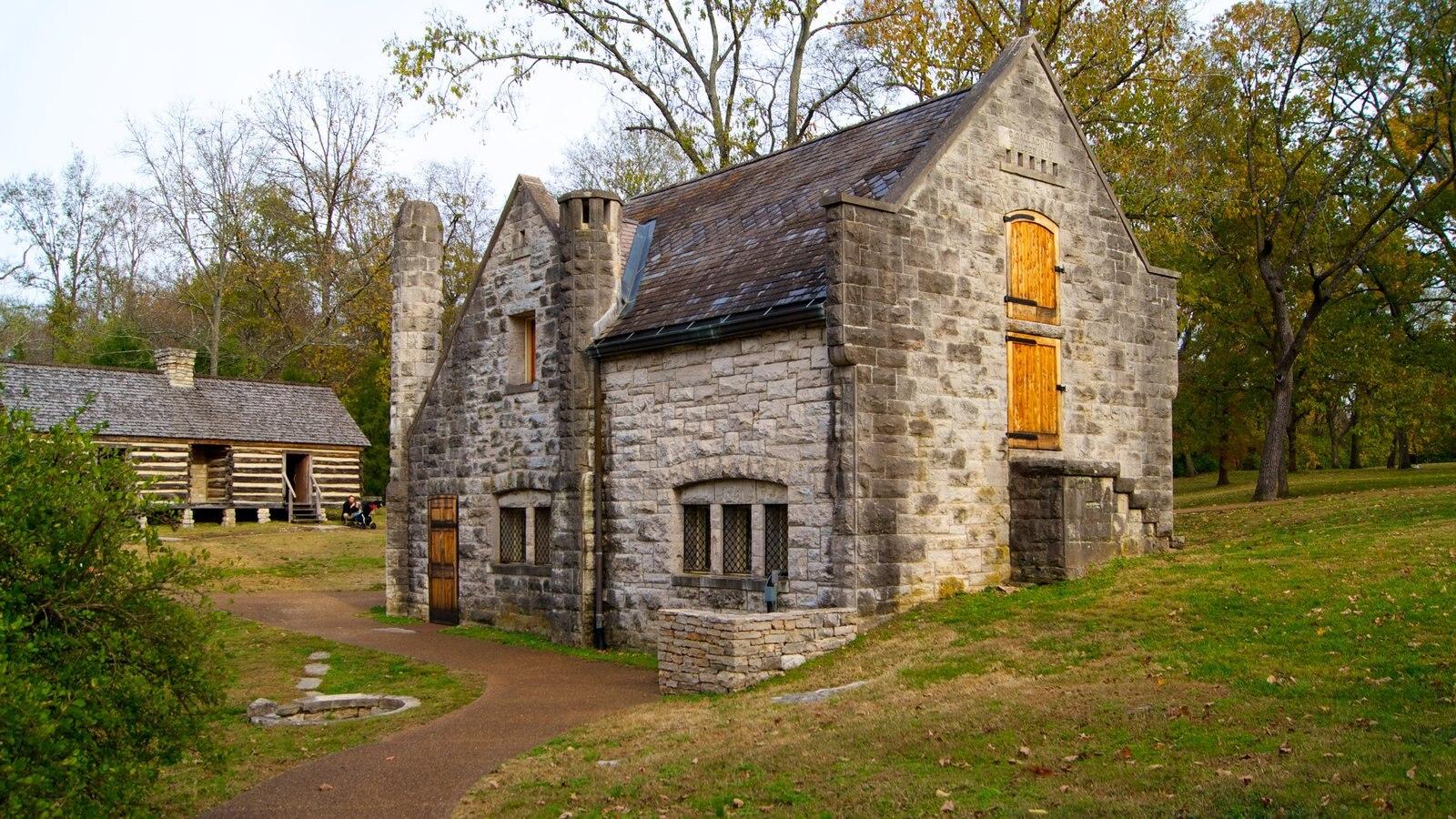 Belle Meade Plantation que incluye una casa y patrimonio de arquitectura