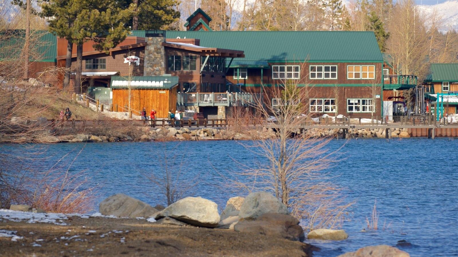 Tahoe City featuring a lake or waterhole
